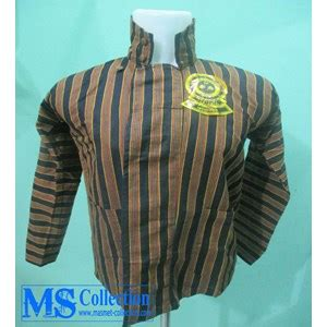 Baju Dalang Tenun jual surjan baju dalang dua sompil hitam lis kuning