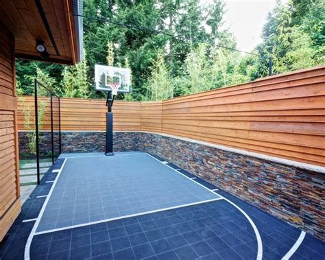 Basketporn Top 13 Backyard Basketball Courts Basketporn Home Basketball Court Design