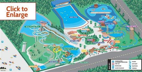 Map of Park and Rides   Shipwreck Island Waterpark in