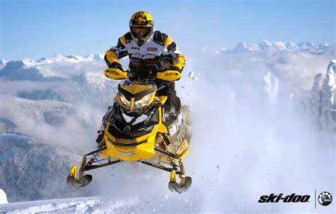 Wallpaper Snow Yellow Jump Sport Sport Snow