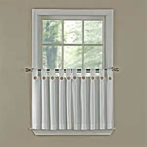 Tab Top Button Curtains Product Image
