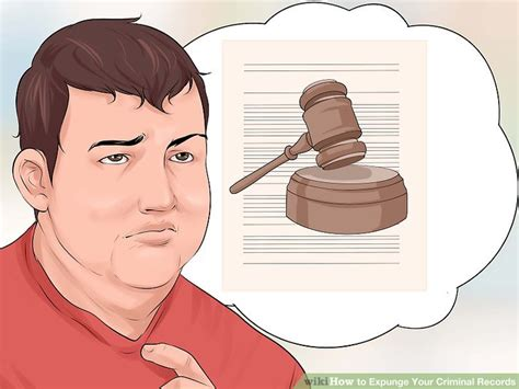 How To Expunge A Criminal Record In Ma How To Expunge Your Criminal Records 9 Steps With Pictures