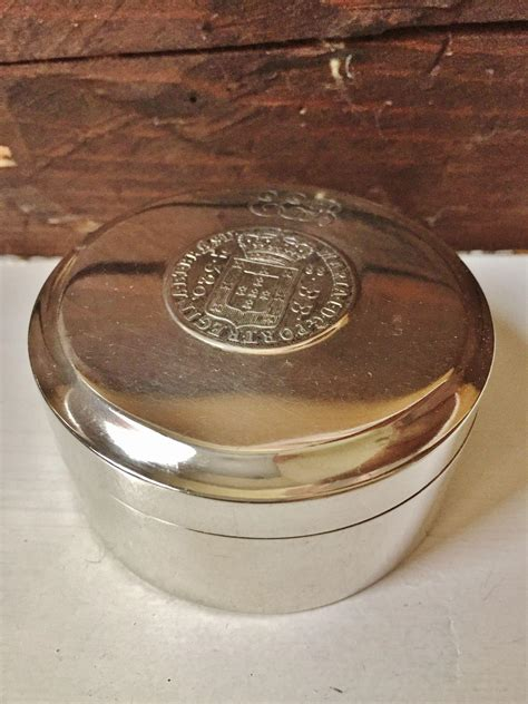 1804 solid silver trinket box sweden s most sought after