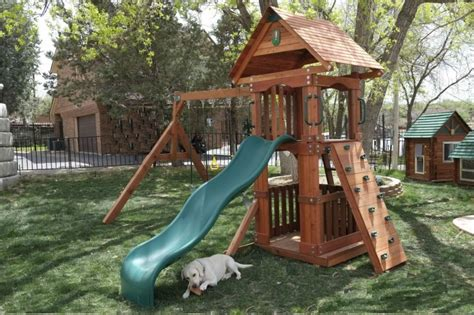 swing set small yard wooden small yard swing set wooden play