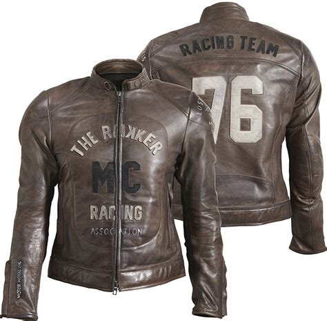 Rokker Mc Leather Jacket Buy Cheap Fc Moto