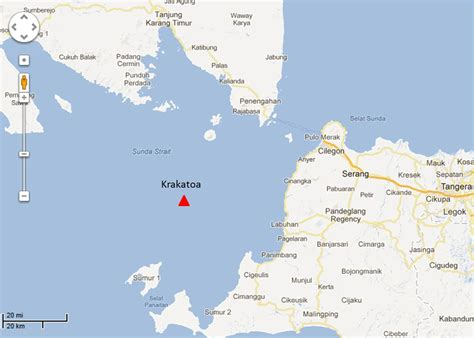 Search On By Location Krakatoa Volcano Location On World Map Search Results Global News Ini Berita
