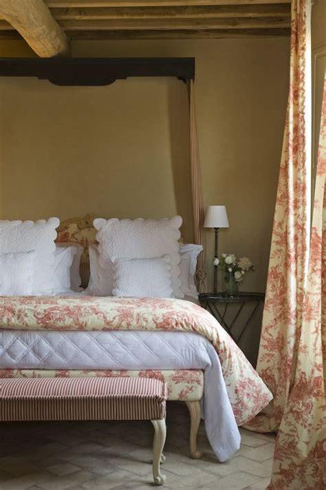 french toile bedroom toscana b b relais sant elena shabby chic mania by
