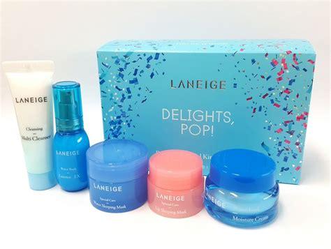 Harga Laneige Delight Pop by Set Dưỡng Da Laneige Delight Pop Best Sellers Trial Kit