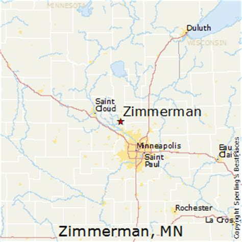 best places to live in zimmerman minnesota
