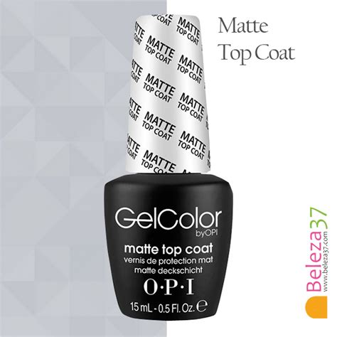 O P I Top Coat opi top coat mate beleza37