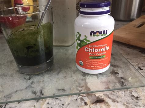 Chlorella For Mold Detox by Now Foods Chlorella Powder Superfood