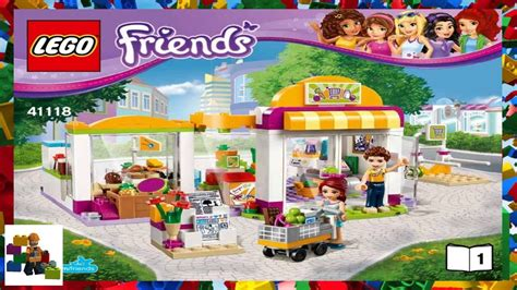 Lego 41118 Friends Heartlake Supermarket 1 lego lego friends 41118 heartlake supermarket book 1