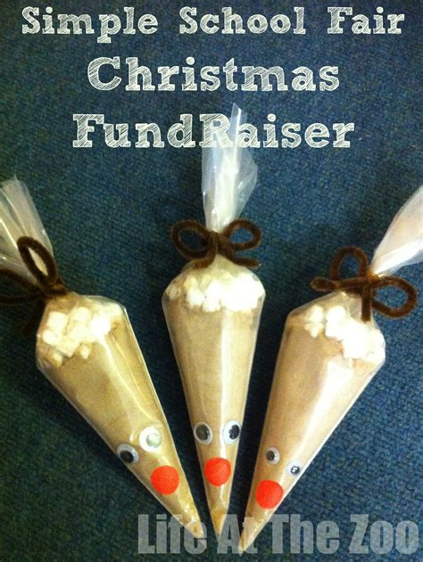 simple school fair fundraising ideas cocoa in a cup