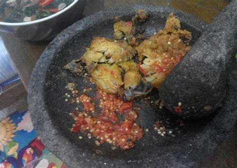 resep ayam geprak sambal korek oleh julia tia saputri