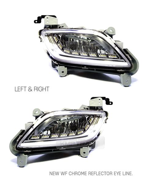 2012 hyundai veloster fog lights 2way led fog lights l drl turn signal assy for hyundai