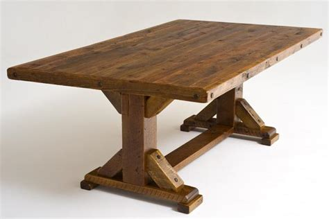 Barnwood Tables by Outdoor Wood Dining Table Wood Patio Table Concrete Table