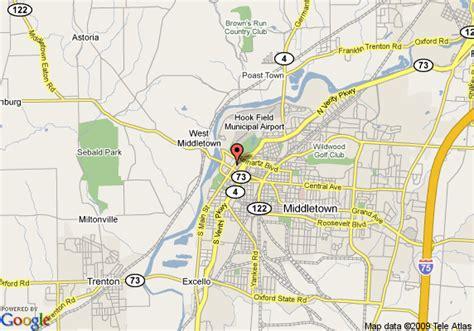 map of middletown ohio 21 creative middletown ohio map swimnova