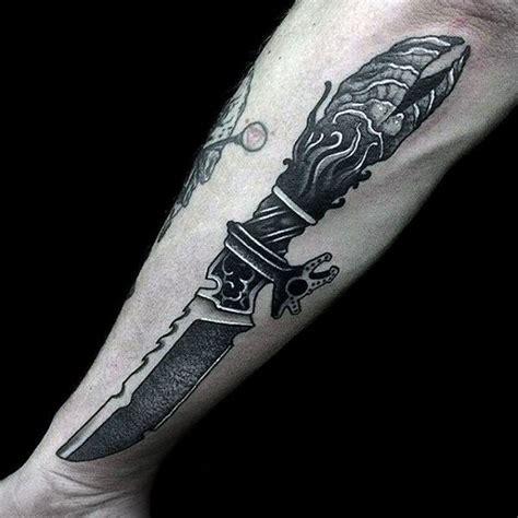 dagger tattoos for men 90 dagger designs for bladed ink ideas