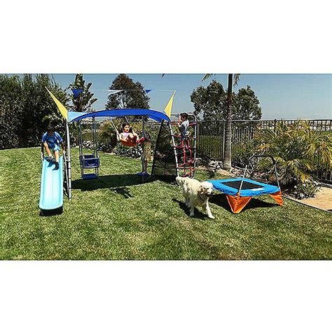 ironkids swing sets ironkids quot cooling mist quot inspiration 850 total fitness