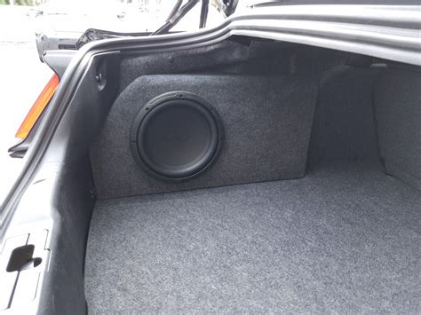 ford mustang subwoofer box 2015 2017 ford mustang subwoofer box phantom fit enclosure