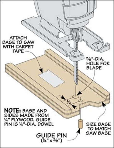template cutting with a jig saw jig saw woodworking
