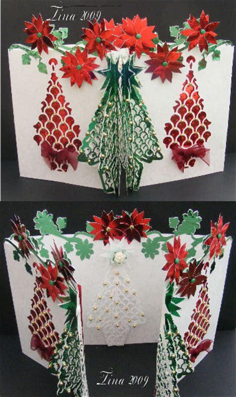 3d tree card template wpc cutting templates 3d tree door card 163 3 25