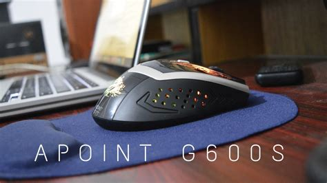 Mouse Wireless Apoint by Cheap Wireless Gaming Mouse Apoint G600s Review