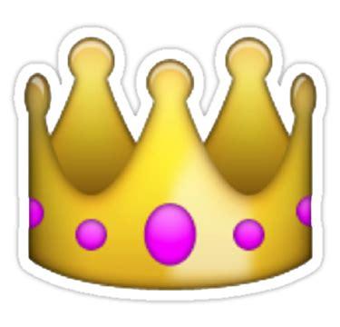 shopping bag transparent emoji emoji crown tumblr