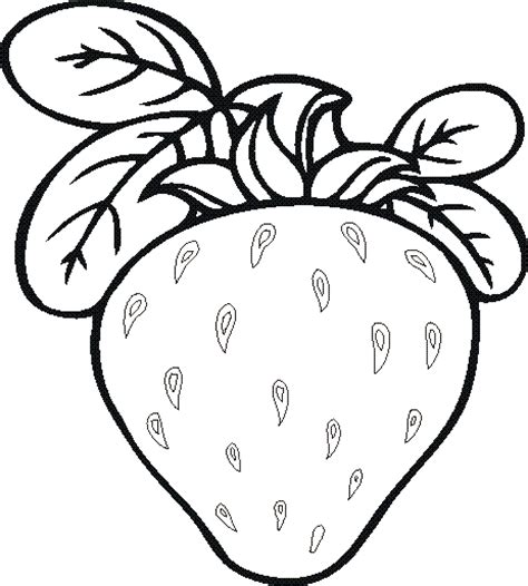 free fruits and vegetables coloring pages