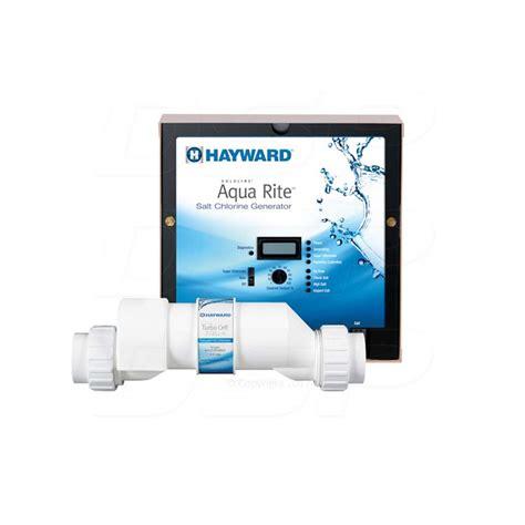 blue essence salt chlorine generator hayward aqua rite with turbocell t cell 15 saltwater