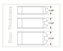 standard exterior door thickness captiva wood doors door types glass panel combination and more