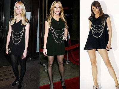 Lohan Vs Schiffer Who Wore It Better by Fashion Faceoff Vs Lindsay Vs Helena