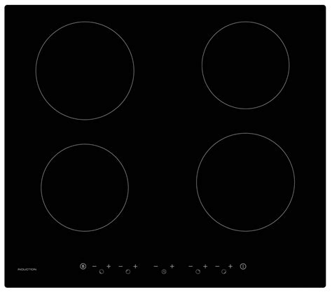 black ceramic induction hob cookology 60cm induction hob cit600 black ceramic electric touch controls ebay