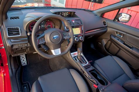 2015 subaru interior 2015 subaru wrx review automobile magazine