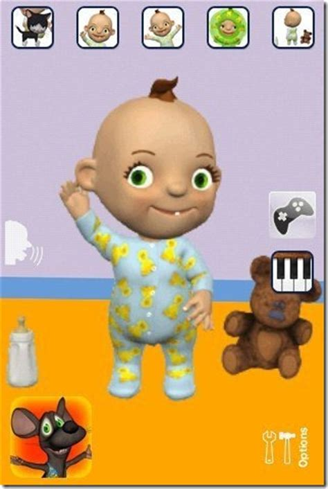 talking app talking babsy android talking baby app free