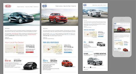 Andy Hunt Design Illustration Car Sales Newsletter Template
