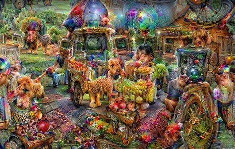 Deep Dream Styles by Github Rdcolema Deepdream Neural Style Transfer