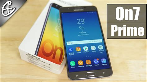 Samsung On7 Prime samsung galaxy on7 prime exynos 7870 13mp f1 9 3300 mah unboxing benchmarks on