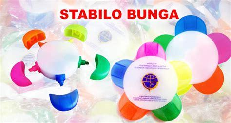 Pulpen Bisa Dihapus Bentuk Bunga jual stabilo bunga stabilo bunga 5 warna barang promosi mug promosi payung promosi pulpen