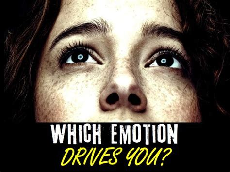 which exceptional emotion is driving your soul quiz today
