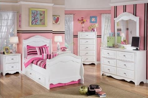 beauty white bedroom furniture  girls
