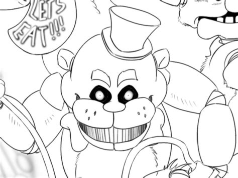 friday lights book pages free coloring pages of five nights at freddy s