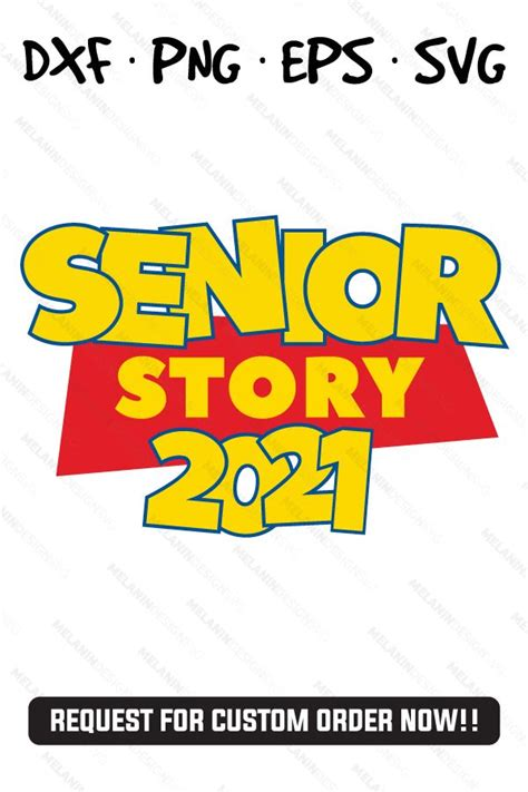 senior story  cartoon inspired   toy story