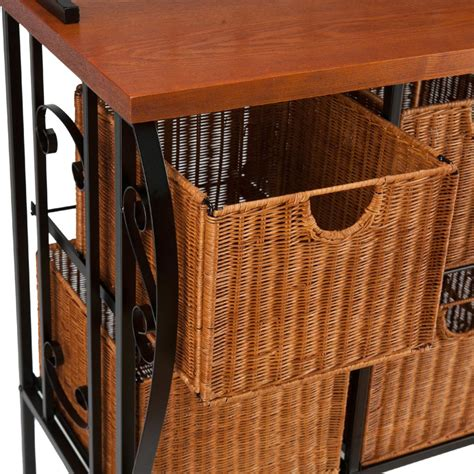 Rustic Bakers Rack by Bakers Rack Kitchen Furniture Storage Shelves Iron Rustic