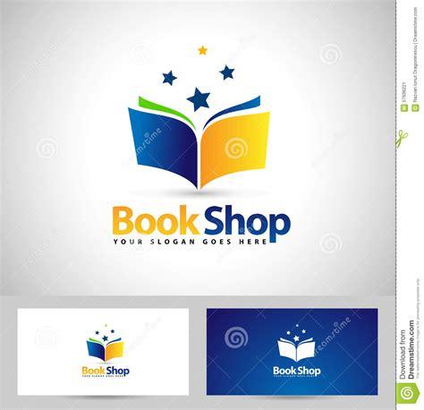 libro logo design love a book logo book shop icon stock vector image 57696221