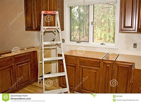 in stock cabinets new home improvement products at kitchen remodel cabinets home improvement stock image