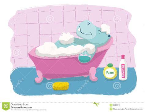 Hippo In Bathtub by Hippopotamus Bath Royalty Free Stock Photo Image 35389915