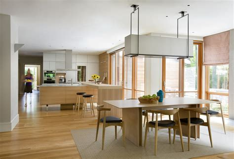 scandinavian style furniture Kitchen Contemporary with