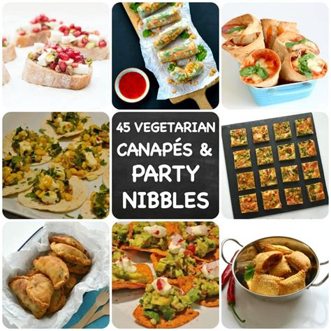 nibbles and canapes 45 recipes for vegetarian nibbles canap 233 s you need