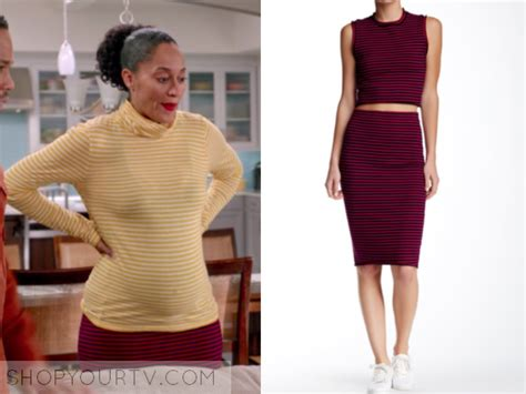 tracee ellis ross chef blackish fashion clothes style and wardrobe worn on tv